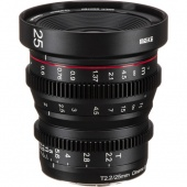 Объектив Meike 25mm T2.2 Cinema Lens Fujifilm X-Mount